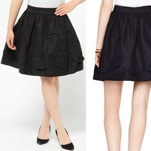 Kate Spade Fancy Meeting You Scallop Bell Skirt 00